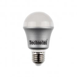 لامپ ال ای دی 6 وات تکنوتل مدل 406 پایه E27 (آفتابی)