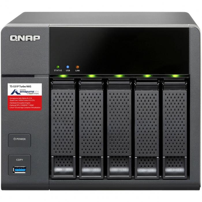 ذخیره ساز تحت شبکه کیونپ مدل TS-531P-2G