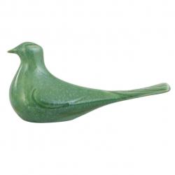 مجسمه سرامیکی گالری فرتاش طرح کبوتر کد 171081 (سبز)