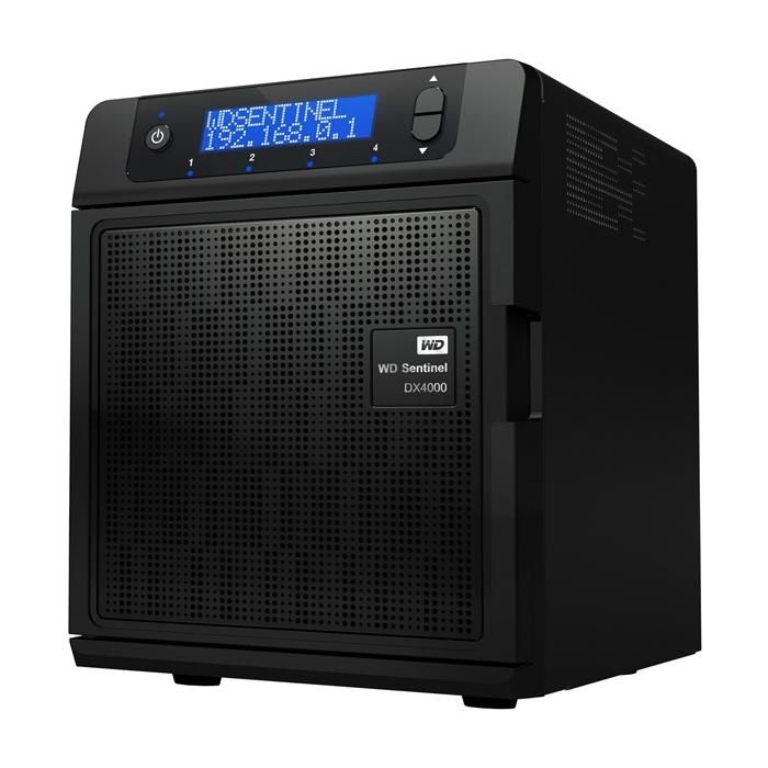 ذخیره ساز تحت شبکه وسترن دیجیتال مدل سنتینل DX4000 ظرفیت 4 ترابایت