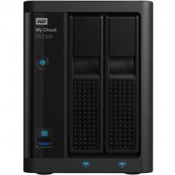 ذخیره ساز تحت شبکه 2Bay وسترن دیجیتال مدل My Cloud EX2100 ظرفیت 4 ترابایت