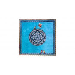 رومیزی گالری قلم فلزی کد 256033 (آبی)