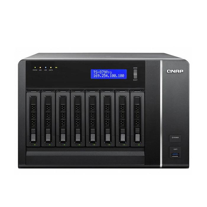 ذخیره ساز تحت شبکه کیونپ مدل TS-879 Pro بدون هارددیسک