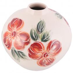 گلدان سرامیکی فرتاش مدل لرستان کد 171098 (کرم)