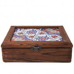 جعبه گالری نگارین کد 80039 (قهوه ای)