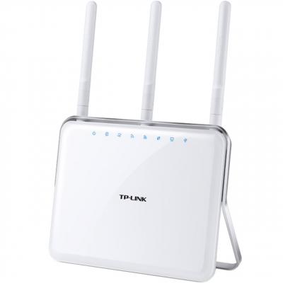 مودم روتر +ADSL2 گیگابیتی دوبانده بی سیم AC1900 تی پی-لینک مدل Archer D9 (سفید)