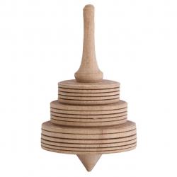 فرفره چوبی گالری کفشدوزک کد 160010 (قهوه ای)