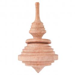 فرفره چوبی گالری کفشدوزک کد 160058 (قهوه ای)