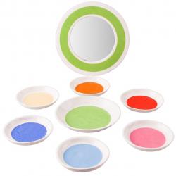 مجموعه ظروف سرامیکی هفت سین گالری ساتگین کد 57214 (سفید)