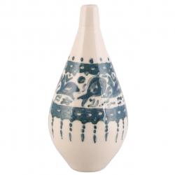 گلدان سرامیکی فرتاش مدل توتک سه کد 171096 (بی رنگ)