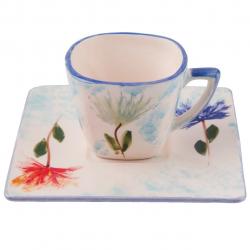 فنجان و نعلبکی طرح قاصدک گالری هنرسرای رضا کد 227021 (سبز)