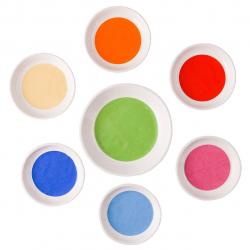 ظروف سرامیکی گالری ساتگین کد 57221 مجموعه هفت عددی (چند رنگ)