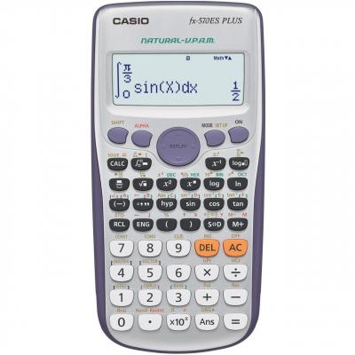 ماشین حساب کاسیو مدل FX-570 ES Plus (سفید)