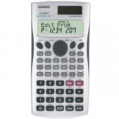 ماشین حساب کاسیو FX-3650p (نقره ای)