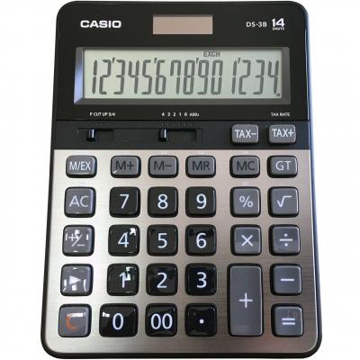 ماشین حساب کاسیو مدل DS-3B (خاکستری)