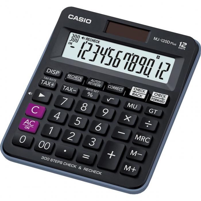 ماشین حساب کاسیو مدل MJ-120D PLUS