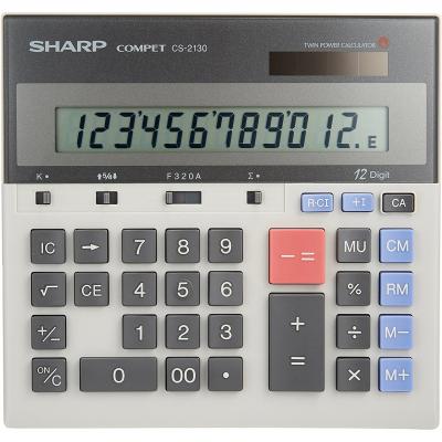 ماشین حساب شارپ مدل CS-2130 (طوسی)