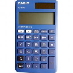ماشین حساب کاسیو مدل NJ-120D (مشکی)