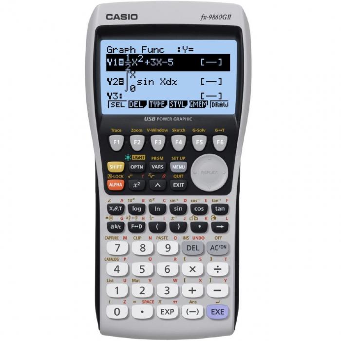 ماشین حساب کاسیو مدل fx-9860G II