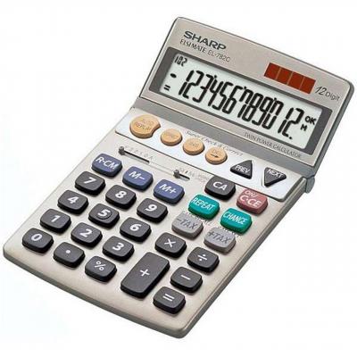 ماشین حساب شارپ مدل EL-782C (سفید)