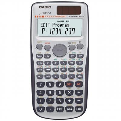 ماشین حساب کاسیو مدل fx-3650PII (نقره ای)