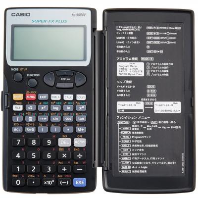 ماشین حساب کاسیو FX-5800 (مشکی)