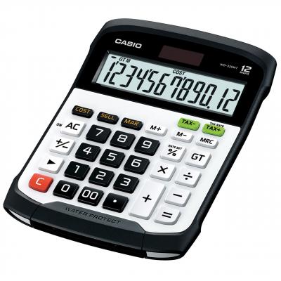 ماشین حساب کاسیو مدل WD-320MT (سفید)