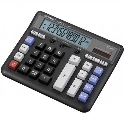 ماشین حساب شارپ مدل EL-2135 (سفید)