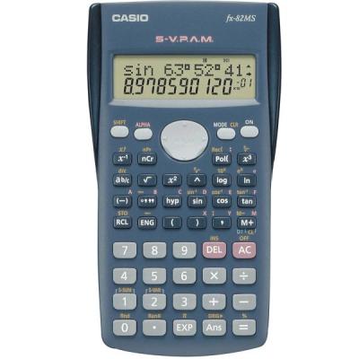 ماشین حساب کاسیو FX-82-MS (خاکستری)