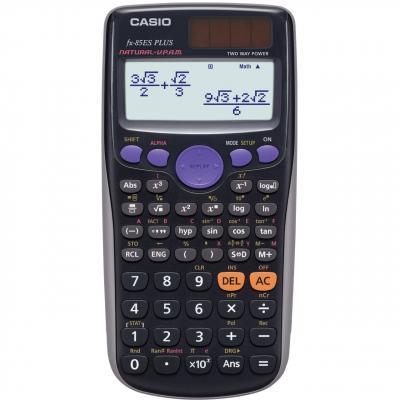 ماشین حساب کاسیو FX-85-ES-PLUS (مشکی)