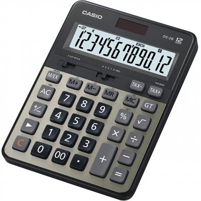 ماشین حساب کاسیو مدل DS-2B (طلایی)