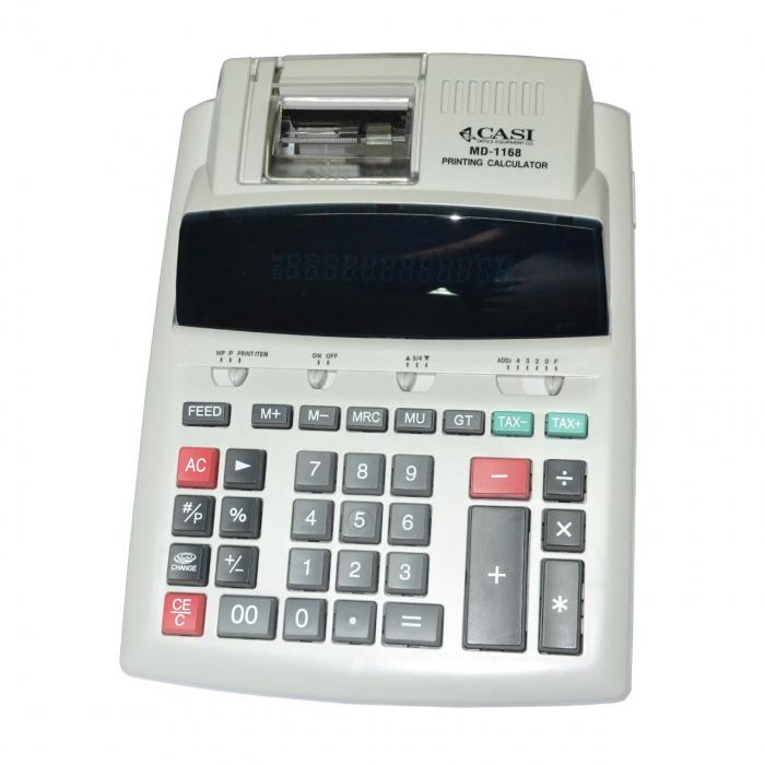 ماشین حساب کاسی مدل MD-1168