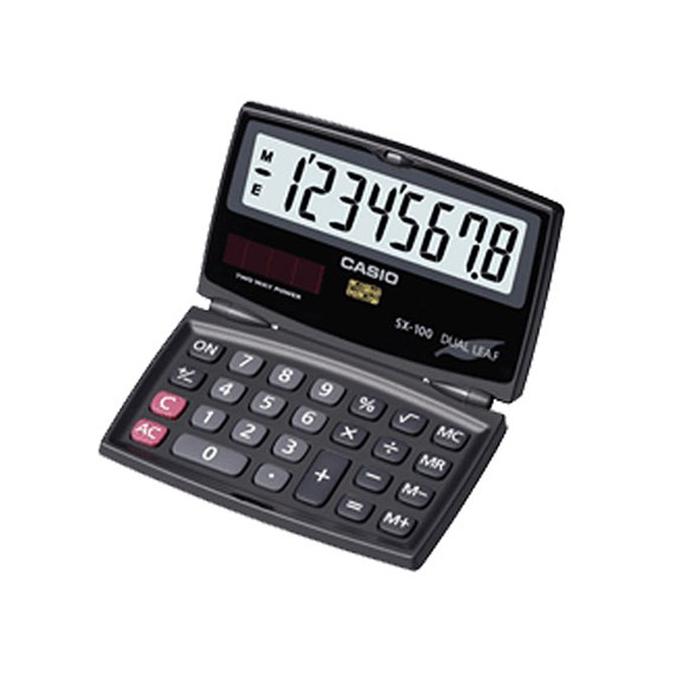 ماشین حساب کاسیو SX-100-W