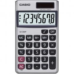 ماشین حساب کاسیو مدل SX-300P (نقره ای)