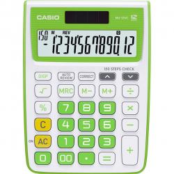 ماشین حساب کاسیو مدل MJ-12VC (قرمز)