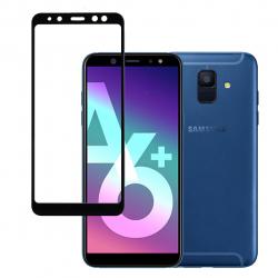 محافظ صفحه نمایش شیشه ای بوف مدل 5D مناسب برای گوشی Samsung A6 Plus 2018