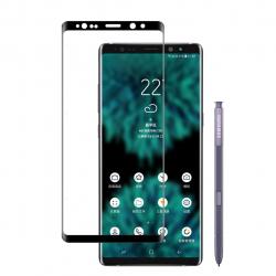 محافظ صفحه نمایش شیشه ای بوف مدل Full Glue مناسب برای گوشی Samsung Note 9 (مشکی)