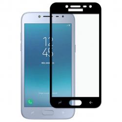 محافظ صفحه نمایش شیشه ای بوف مدل 5D مناسب برای گوشی Samsung J3 Pro 2018