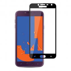 محافظ صفحه نمایش شیشه ای بوف مدل 5D مناسب برای گوشی Samsung J4 2018 (مشکی)