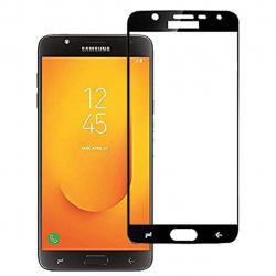 محافظ صفحه نمایش شیشه ای بوف مدل 5D مناسب برای گوشی Samsung J7 Duo (مشکی)