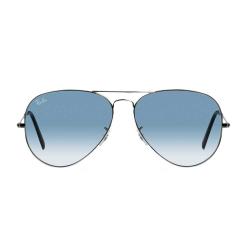 عینک آفتابی ری بن سری Aviator مدل RB 3025 - 003/3F سایز 58mm (آبی)