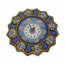 ساعت خاتم و مینا کاری شیراز خاتم مدل خورشیدی کد 25 (چند رنگ)