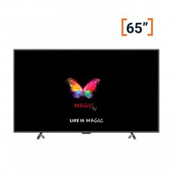 تلویزیون ال ای دی هوشمند مجیک تی وی مدل MH65D2400 سایز 65 اینچ