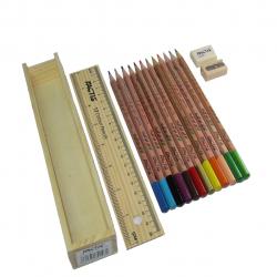 مداد رنگی 12 رنگ فکتیس مدل Natural (چند رنگ)