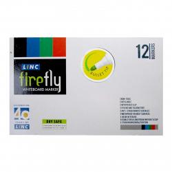 ماژیک وایت برد لینک مدل Fire Fly بسته 12 عددی (چند رنگ)