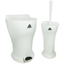 ست سطل و فرچه PLAST کد 09060018 (بی رنگ)