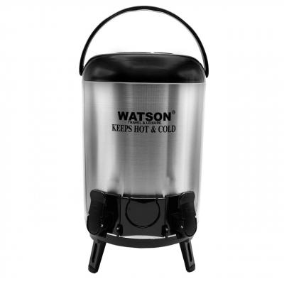 کلمن واتسون کد 0012 گنجایش 12 لیتر (نقره ای - مشکی)