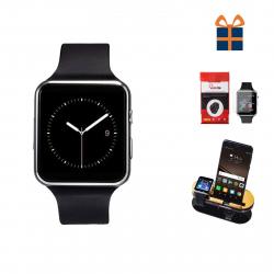 ساعت هوشمند بی اس ان ال مدل A20 به همراه محافظ صفحه نمایش و استند اختصاصی شیدتگ (مشکی)