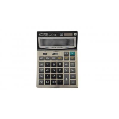 ماشین حساب رومیزی سیتزن مدل CT-912 (کرم)