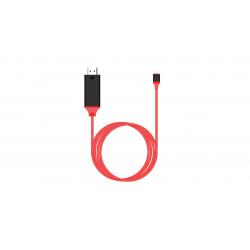 مبدل Type-C به HDMI ارلدام مدل ET-WS8 مناسب برای سامسونگ S8/S8 Plus